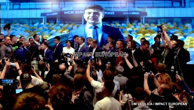En Ukraine la fiction est devenue réalité dimanche