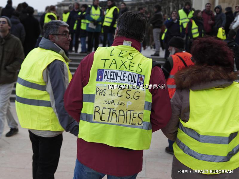 L'acte 14 des «Gilets jaunes» trois mois des mobilisations en France chaque samedi