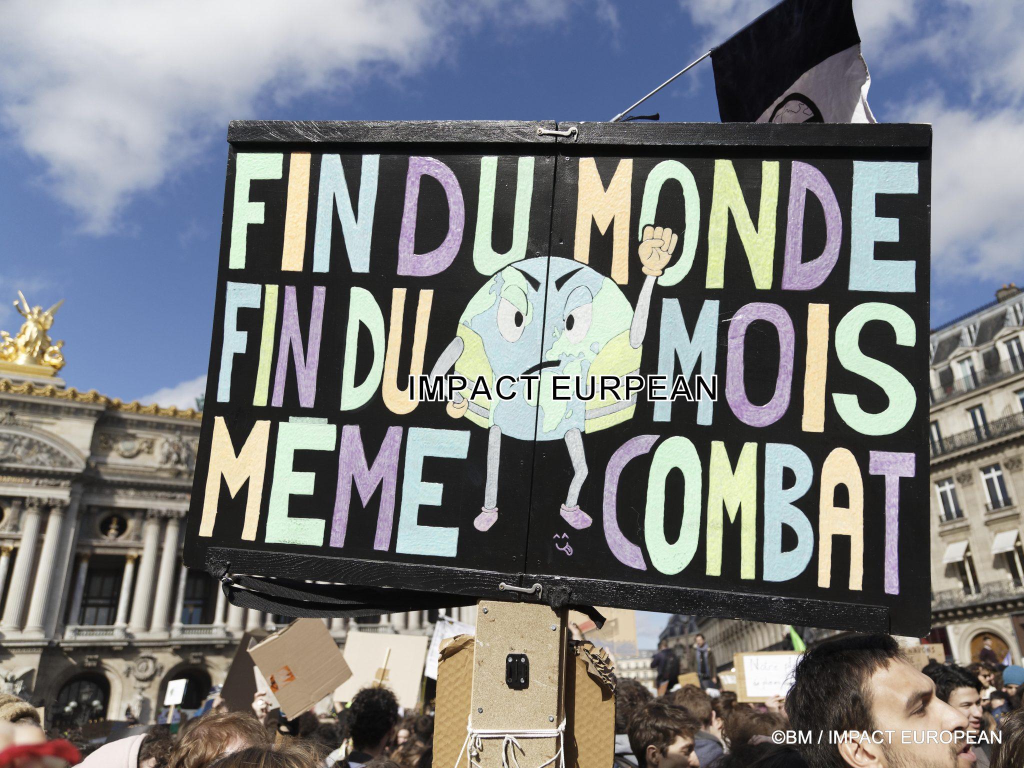 """Grève mondiale et """"Marche du Siècle"""" pour le climat les 15 et 16 mars"""