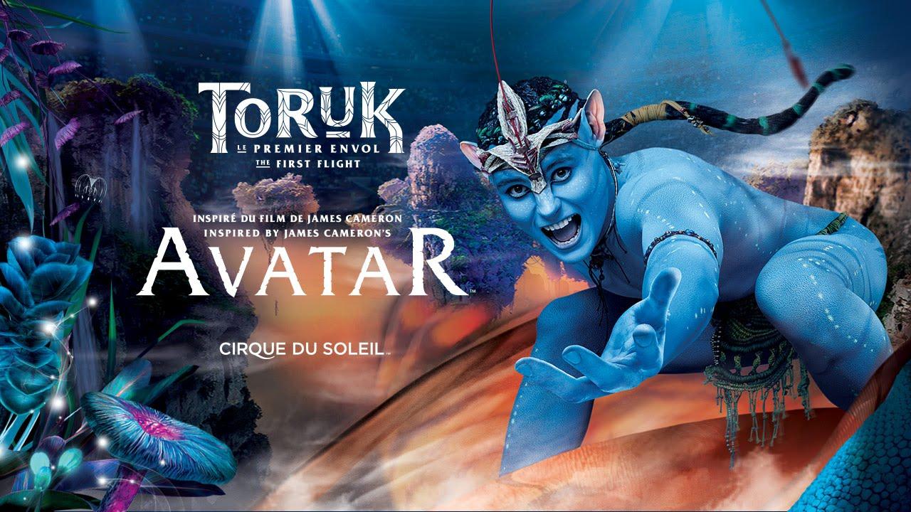 """Le nouveau spectacle du Cirque du Soleil,""""TORUK"""" bientôt à Paris"""